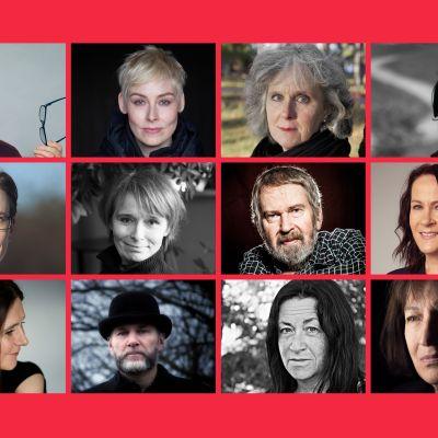Kandidaterna till Nordiska rådets litteraturpris 2017.