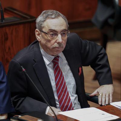 Ben Zyskowicz eduskunnassa 5.3.2020
