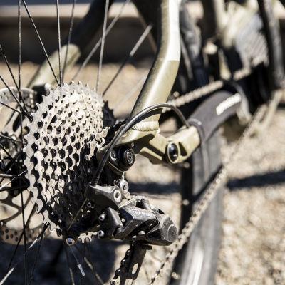 Maastopyörän takaratas