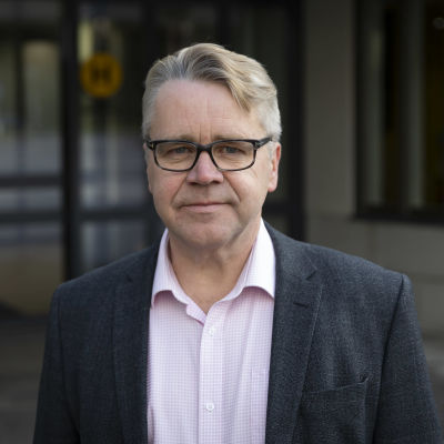 Kansanedustaja Peter Östman.