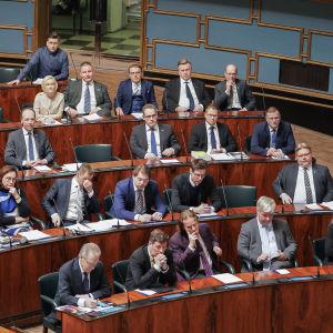 Hallituksen kyselytunti 5.3.2020