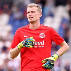 Lukas Hradecky i Eintrachts tröja.
