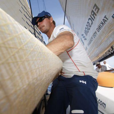 Thomas Johanson i Volvo Ocean Race 2008-2009.