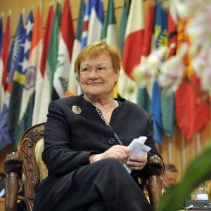 President Tarja Halonen