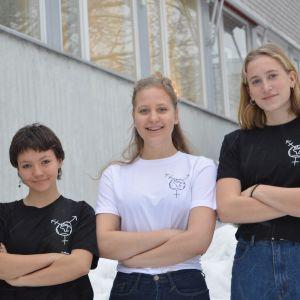 Anna von Knorring, Valerie Westerlund, Catarina Korkman.