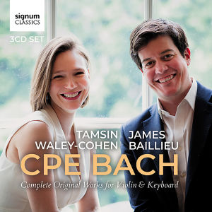 CPE Bach: Complete original works for violin & keyboard