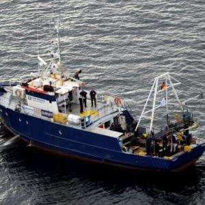 Det tyska dykarfartyget som misstänks ha stört gravfriden vid Estoniavraket