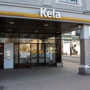 Tampereen keskustan Kelan julkisivu.