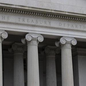 Yhdysvaltojen valtionvarainministeriö sijaitsee Washingtonissa. Ministeriön epäillään joutuneen laajan verkkohyökkäyksen kohteeksi.