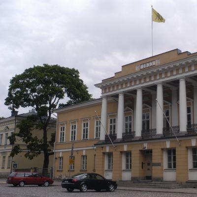 Huvudbyggnaden vid Åbo Akademi i Åbo