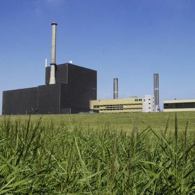 Kärnkraftverket Brunsbüttel i Schleswig-Holstein