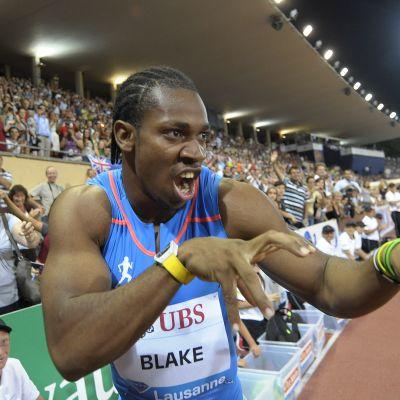 Yohan Blake, augusti 2012