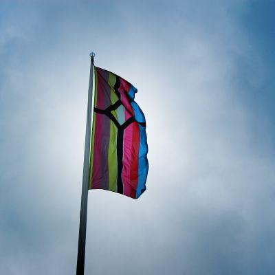 Strömsös nya flagga 2012
