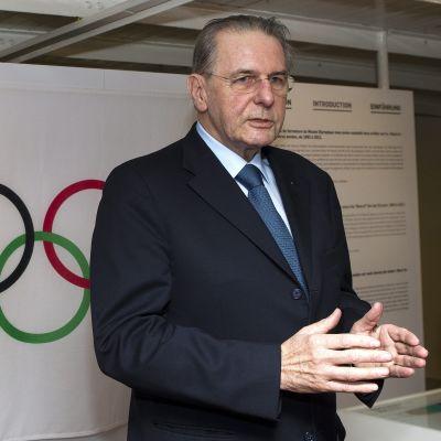 Jaques Rogge, ordförande för IOK.