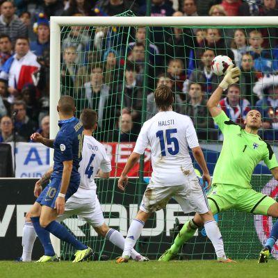 Frankrike-Finland 3-0