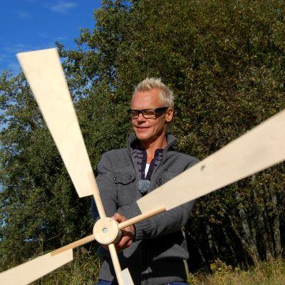 Johan och Jims vindkraftverk