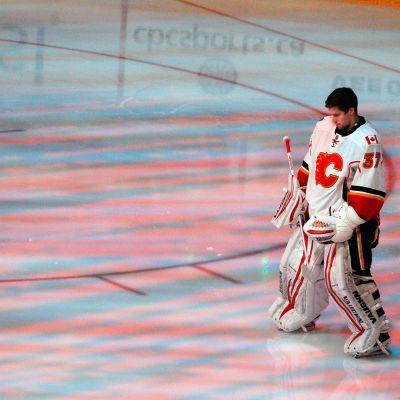 Joni Ortio, Calgary Flames.