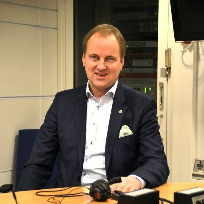 Raseborgs stadsdirektör Tom Simola.