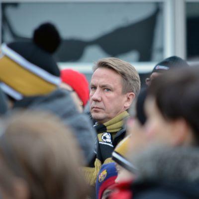 SJK:n puheenjohtaja Raimo Sarajärvi.