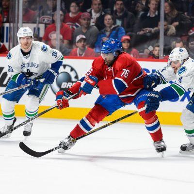 Montreal ja Vancouver NHL-kaukalossa