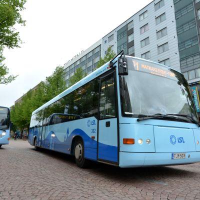 bussi Lahti Lahden keskusta