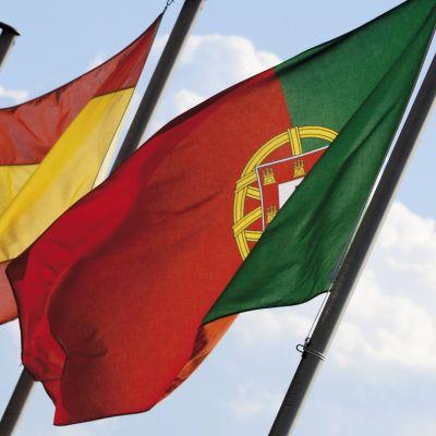 Espanjan ja Portugalin liput