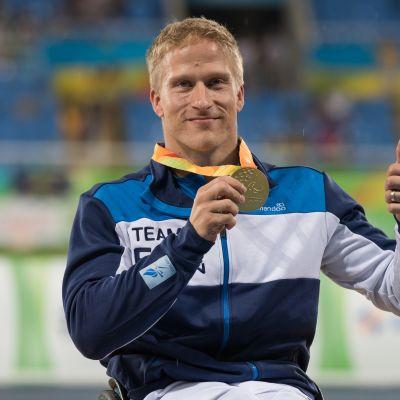 Leo-Pekka Tähti sai kultamitalinsa Riossa