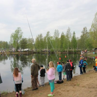Valtakunnallinen kalastuspäivä Ilosaaressa