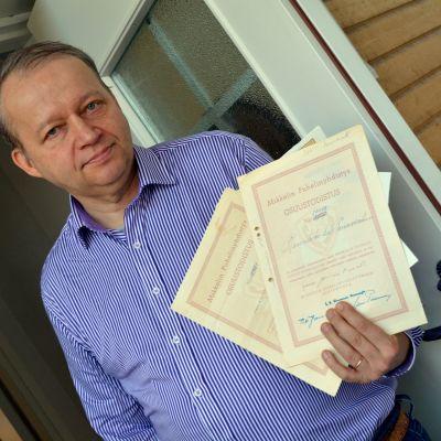 Seppo Vartiainen osti MPY:n osuuksia vielä tammikuun lopulla.