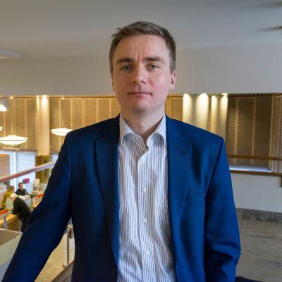 OP Kainuun sijoitusjohtaja Olli Kokkonen.
