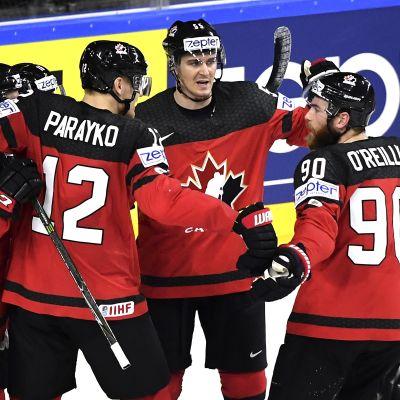 Kanada juhli lopulta MM-välierissä
