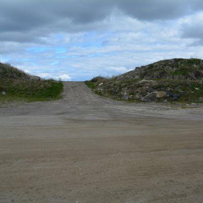 Maaston entinen kaatopaikka Kajaanissa