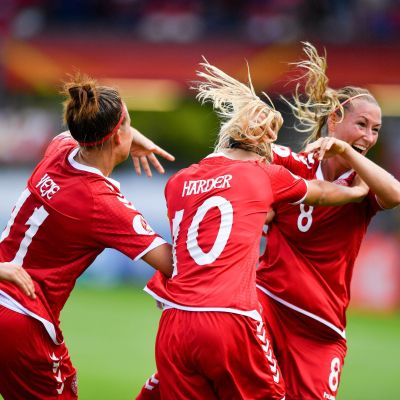 Theresa Nielsen avgjorde kvartsfinalen mellan Danmark och Tyskland.