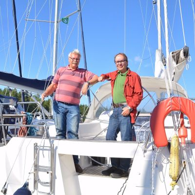 Christer Helenelund och Johan Graeffe.