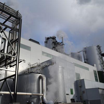 Äänekosken biotuotetehdaan massatehdas.