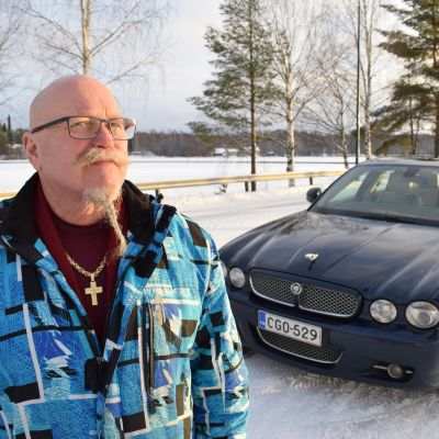 Erkki Lappi ja Jaguar.
