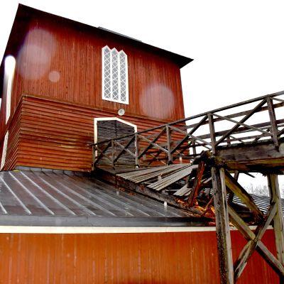 Leineperin Ruukin silta romahti Ulvilassa