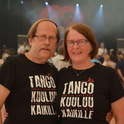 """Matti """"Masa"""" Laamanen ja Seija """"Seikku"""" Lepistö"""