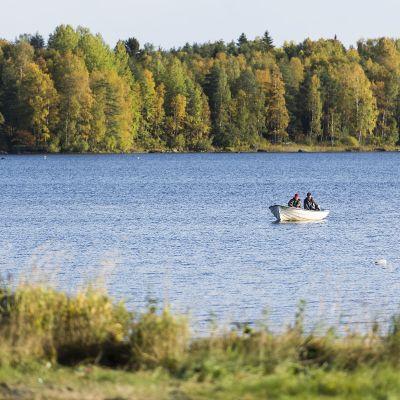 Vene Lestijärvellä.