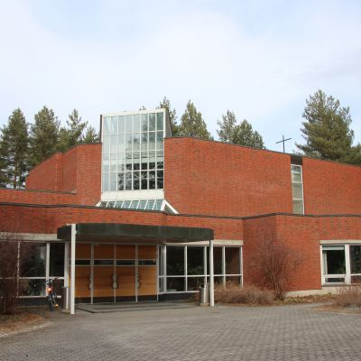 Rantakylän kirkko Joensuussa