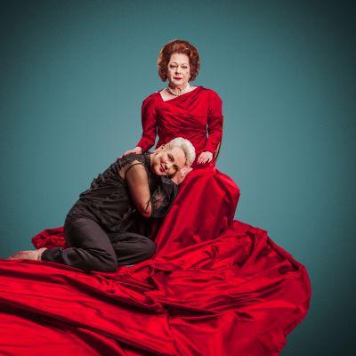 Sari Jokelinin viimeinen rooli ennen eläkkeelle jäämistä on Charlotte näytelmässä Syyssonaatti. Charlotten tytärtä näyttelee Mari Pöytälaakso.
