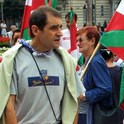 Josu Ternera, tidigare ledare för ETA