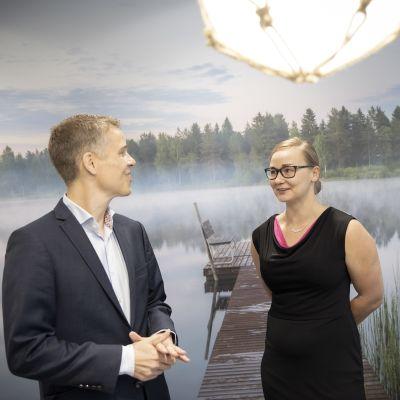 Sami Pyykkönen ja Maija Järvinen