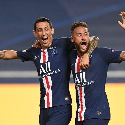 PSG:n voimakaksikko Angel Di Maria ja Neymar
