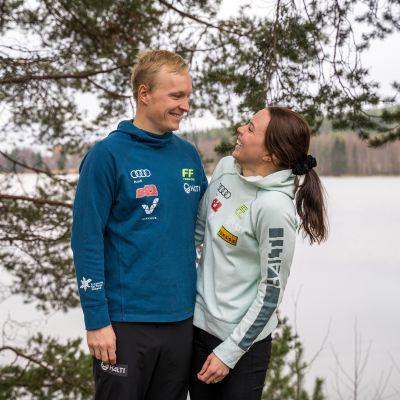 Juho Mikkonen ja Kerttu Niskanen