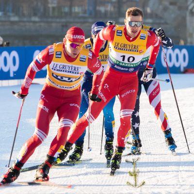 Venäjä hiihtäjät