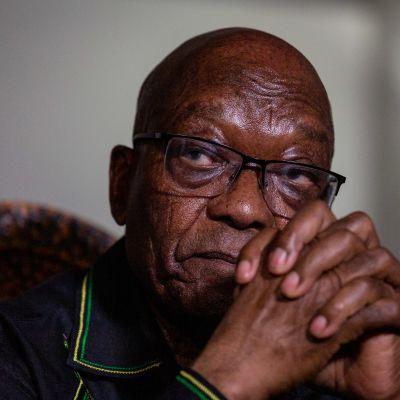 Etelä-Afrikan entinen presidentti Jacob Zuma kuvattuna 4. heinäkuuta 2021.