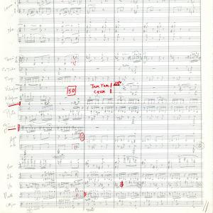 Ann-Elise Hannikainen: Anerfalica -partituurista