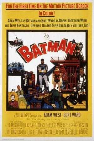 Batman - Lepakkomies, elokuva 1966.