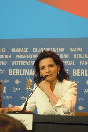 juliette binoche och gabriel byrne på Berlinale 2015